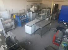 معدات مطاعم جديدة ومستعملة للبيع
