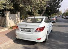 White Hyundai Accent 2014 for sale