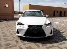 New condition Lexus IS 2017 with 1 - 9,999 km mileage