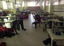مصنع حقائب في لاردن للبيع