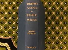 Johnston's Synopsis of Regional Anatomy Ninth Edition 1963