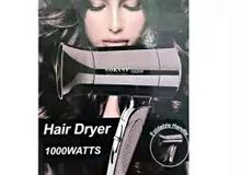 سشوار  سوكاني  Sokany Professional Hair Dryer 1000w  مميزاته:- مجفف الشع