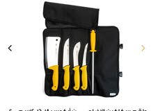 طقم سكاكين الاضاحي من اركوس (14-16-18سم)مع مسن وساطور