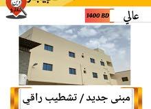 بناية تجارية سكنية للإيجار / 1400دينار وقابل للتفاوض