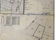 للبيع ارض سكنية ممتازة في الغبرة الشمالية خلف مبنى تجاري