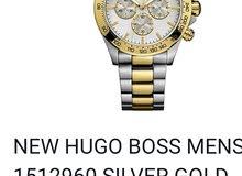 ساعه رجاليه Hugo boss  رجاليه اصلي 100%