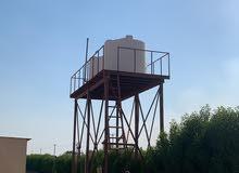 غسيل وتصلح جميع انواع خزنات المياه مع تركيب صحي الخزان مع كفاله على الشغل انشاء