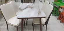 طاولات طعام سطح رخام