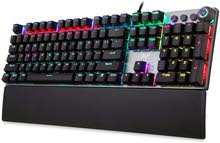 AULA F2088 RGB Mechanical Gaming Keyboard English Arabic Language