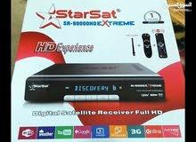 للبيع رسيفر starsat 90000 hd extreme