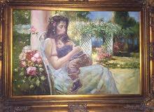 لوحه عمرها اكثر من 35 سنه للبيع