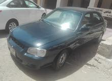 Used condition Hyundai Accent 2001 with +200,000 km mileage