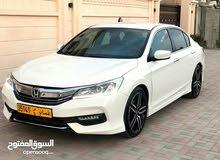 White Honda Accord 2016 for sale