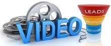 عمل اعلانات فيديو للمنتجات والشركات والخدمات