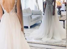 فستان فرح ناعم