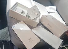ابل ايفون 8 جديد لم يستخدم 64 جيبي لوون مميز