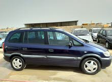 Used condition Opel Zafira 1999 with +200,000 km mileage
