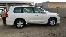 Toyota Land Cruiser 2009 For sale - White color