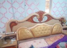 غرفه نوم مستعمله ماليزيه بحال جيده مع فراش للسرير