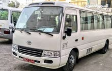 Mini Bus Toyota Coaster For Rent