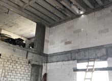 بناء قسائم ملاحق اضفيه بلمواد مصنوعيه بدون مواد