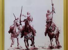 رسام لوحات جدارية رسم لوحات فنية صور شخصية (جاهز وحسب الطلب)