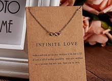 Infinite love necklace. Price: 1BD