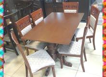 طاولة مع 6 كراسي حرق سعر