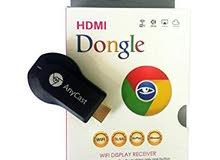 وصلة hdmi anycast wifi والتوصيل مجاني