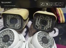 للبيع كاميرات مراقبة داخليه وخارجيه