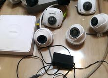 كاميرات مراقبة الداخلية والخارجية مش مستعملات  للبيع