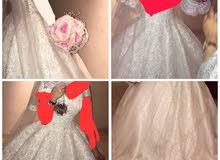 فستان عروس فرنسى