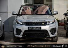 رنج روفر ايفوك - 2012 Range Rover Evoque Dynamic