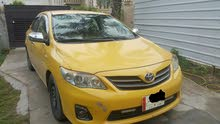 Automatic Yellow Toyota 2013 for sale