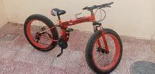 دراجة جبلية هوائية للبيع اصلية غير صينية