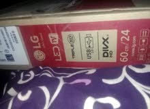 شاشه ال جي 24 بوصة للبيع المستعجل جديدة صناعة كوريه
