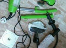 مكنسة كهربائية لتنظيف السيراميك و الستائر و الارضيات