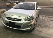 New Hyundai Accent in Baghdad