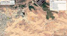 ارض للبيع الهاشميه بالقربة من الخربة السمره مساحه 4 دونمات على حد التنظيم