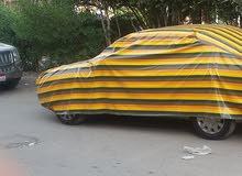 غطاء سياره لنيسان صنى الشكل القديم استعمال بسيط جدا (15 يوم)
