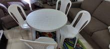 4كرسي+طاولة