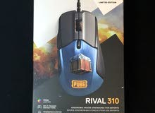 steel series rival 310 PUBG limited edition ( gaming mouse )