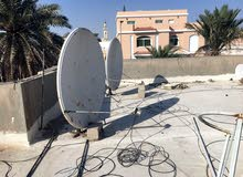 all kinds of satellite dish selling and installation work just call :-55221337