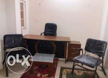 مكتب ادارى/عيادة مفروش للايجار شارع فيصل الرئيسى