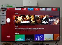 TCL smart tv with Android features size 49 inch's