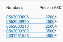 ETISALAT VIP NUMBERS IN CHEAP PRICE