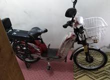 دراجة كهربائية حالة جيدة