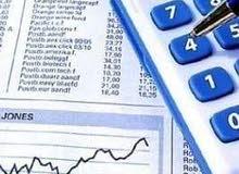 محاسب خبرة 3 سنوات ف اعداد القوائم المالية  يطلب دوام جزئى او زيارات