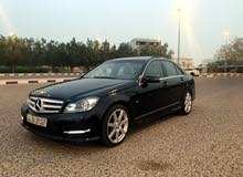 Black Mercedes Benz C 200 2012 for sale