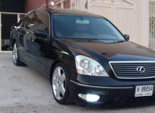 Black Lexus LS 2002 for sale